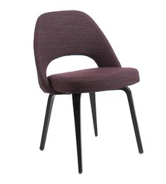 Saarinen Conference Chair In Rivington Fabric Upholstery & Ebony Oak Legs - Office Chairs - Chairs & Stools - Furniture - The Conran Shop UK