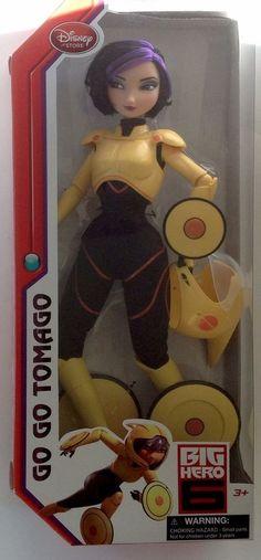 "Disney Store Exclusive Big Hero 6 Go Go Tomago Fashion Doll 11"""