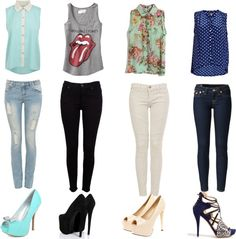 """""""Looks"""" by biazinha-336 ❤ liked on Polyvore"""