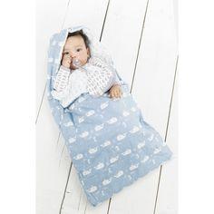 Bio b/éb/é en mousseline Swaddle couvertures en petit Gris/ /Designs de luxe pour b/éb/é et chambre denfant/ /120/cm x 120/cm/ /&nbs /Lot de 2/100/% coton bio/