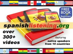 Get our free Spanish lesson pack for beginners or watch many of our interactive video lessons featuring native Spanish speakers from around the world. All lesson materials are perfect for Spanish teachers and students as in-class activities, homework and self-study.