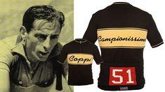 Sogneur Coppi trui @ Italiaanse Racefietsen