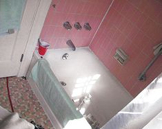 How I Painted Our Bath Tub Tile Amp Floor DIY Under 30 DIY Home Updates Ugrades And