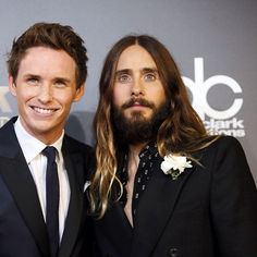 Eddie Redmayne and Jared Leto  at 18th Annual Hollywood Film Awards - 14 november 2014