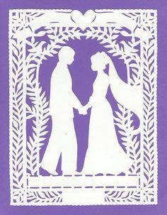 Wedding Scherenschnitte