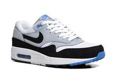 Nike Air Max 1 'White/Wolf Grey-Photo Blue' - mashKULTURE