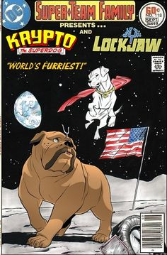 Super-Team Family: The Lost Issues!: Krypto and Lockjaw