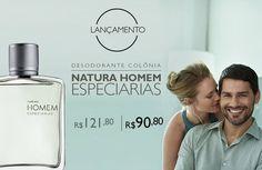 Natura Homem Especiarias até 15/02 por R$ 90,80, aproveite!! Frete grátis acima de R$ 59,00 - http://rede.natura.net/espaco/ljpurocharmebauru