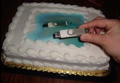 """LMFAO When they said """"Here's the image for the cake!"""" I'm not sure this is what they meant: 