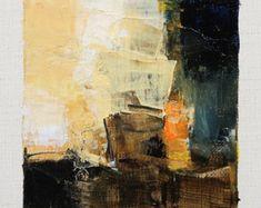 Se trata de una Original pintura al óleo abstracta por Hiroshi Matsumoto  Título: 30 de agosto de 2015 Tamaño: 9,0 x 9,0 cm (aprox. 4 x 4) Al tamaño del lienzo: 14,0 x 14,0 cm (aprox. 5,5 x 5,5 pulg.) Medios: Óleo sobre lienzo Año: 2015  Esta es mi pintura cotidiana llamada pintura de 9 x 9 y el título es la fecha de esta pintura que he creado.  Pintura viene con estera (las imágenes de 2-5)  Pintura se mate en blanco para marco de 8 x 10 pulgadas estándar (no incluido) y se envía con…