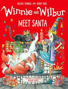 Yesterday Winnie the Witch was posting a letter to Santa in Winnie and Wilbur meet Santa by Valerie Thomas and Korky Paul. Its Christmas Eve, Christmas Morning, A Christmas Story, The Witcher, Santa Story, New Fiction Books, Illustrator, Meet Santa, Santa Letter