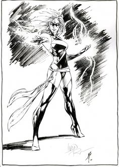 Ms Marvel by Ivan Reis, in Nathan Turner's Ms Marvel Comic Art Gallery Room Marvel Comics Art, Ms Marvel, Captain Marvel, Comic Book Characters, Female Characters, Jordi Bernet, Alex Toth, Anatomy Poses, New Avengers