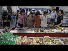Trying a shopping trip in Pyongyang, North Korea