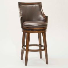 sturdy wooden swivel counter stools | Lyman Wood Swivel Counter Stool by Hillsdale Furniture