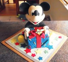 Terrific Mickey Mouse Birthday Cake