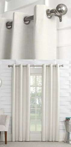 Keep your room comfortable and stylish with the subtly-textured pattern and energy-efficient thermal design #ad #curtain #bedroom #homedecor