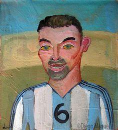 Roberto Ayala , acrylic on canvas, 20 x 19 cm. 2005.