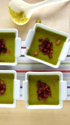 Split Pea and Smoky Pancetta Soup (pressure cooker)