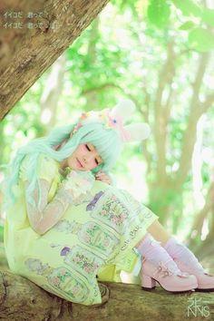 #lolita fairy kei cutie