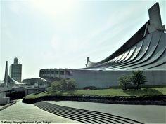 Yoyogi National Gym (brutalist) by Kenzo Tange, Tokyo