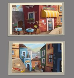 Wine shop concept city isometric in 2019 вдохновение Background Drawing, Cartoon Background, Animation Background, Background Patterns, Environment Concept Art, Environment Design, Prop Design, Game Design, Medan