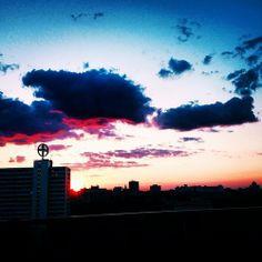 siebensiebtel #beautiful #sunset #berlin #rooftop #bar #drinks #relax