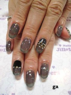 translucent nail designs