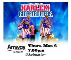 Giveaway: 4 tickets to see the Harlem Globetrotters at Amway Center!!! | Macaroni Kid
