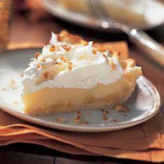 Raw Vegan Recipes - Lemon Meringue Pie Recipe. Substitute honey with agave