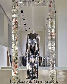 "CALVIN KLEIN,New York, ""I blossom in #mycalvins"", pinned by Ton van der Veer"