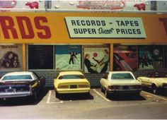 Tower Records - my neighborhood then and now