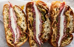 There is no better beach or picnic sandwich: It feeds a crowd, gets better as it sits, and is a hearty meal built inside a loaf of bread. About that…