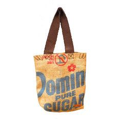 Gypsy Living Traveling In Style| Serafini Amelia| Reina Vintage Burlap Tote, $49, now featured on Fab.
