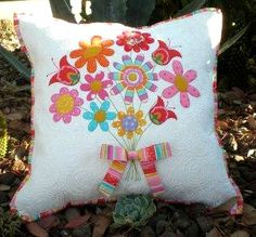 Thank You! Pillow Cover Pattern - Click Image to Close