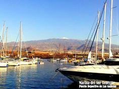 El #Teide desde nuestra marina.  Mount Teide from Marina Del Sur