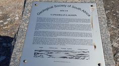 Geological Society of South Africa, Langebaan Lagoon