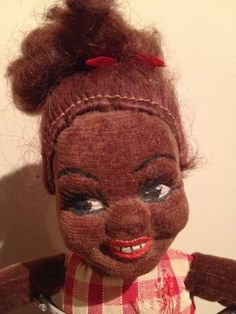 Norah Wellings Black Nassau Islander Girl Cloth Doll