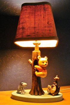 Exceptional Vintage Winnie The Pooh Ceramic Lamp Light Dolly Toy Corp By  SheliasGlassShop On Etsy