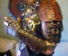 Armure cuir celtique