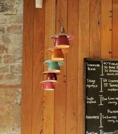 Lámparas taza / Cup pendant lights « La Factoría Plástica