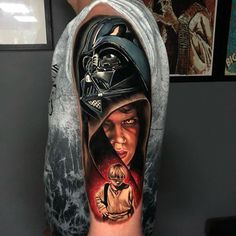 Star Wars Tattoo Ideas For Men - Best Tattoo Ideas For Men: Cool Tattoos For Guys - Find Badass Designs and Drawings For Inspiration #tattoos #tattoosforguys #tattoosformen #tattooideas #tattoodesigns