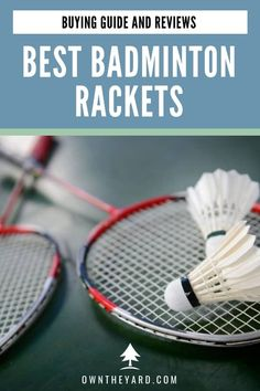Are you looking a brand new badminton racket that suits your playstyle? We have created a list of some of the best badminton racket for each kind of player Backyard Playground, Backyard Games, Backyard Ideas, Best Badminton Racket, Tennis Racket, Fun Outdoor Activities, Family Activities, Outdoor Play Areas, Pool Games