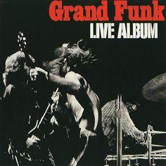 "Grand Funk Railroad   GRAND FUNK RAILROAD, extreme lives!! ""LIVE ALBUM""!!"