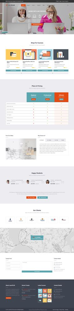 LearnPlus is an unique and modern #Learning Management System WordPress theme…