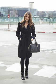 Todas las imágenes de street style en Mercedes Benz Fashion Week Madrid: Mónica Martínez