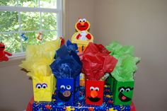 "Photo 1 of 53: Elmo & Sesame Street / Birthday ""Isabella's Third Birthday"" | Catch My Party"