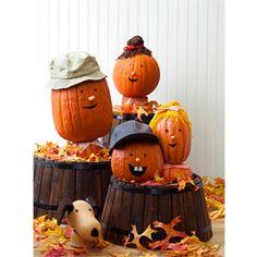 Pumpkin Family Craft. So easy to make!