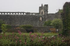 The Bishop's Palace, St. Davids Cathedral, Wales.