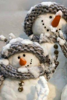too cute ~ snowmen