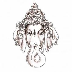 elephant tattoo | Home / Gaja Hindu Elephant Tattoo